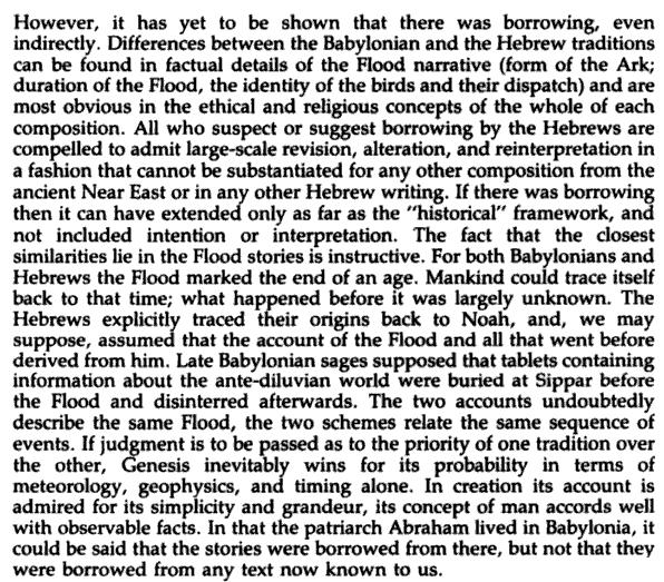similarities in the mesopotanian and hebrew flood stories
